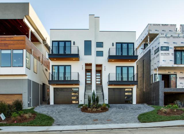 947 Southside Pl, Nashville, TN 37203 (MLS #1991138) :: RE/MAX Homes And Estates