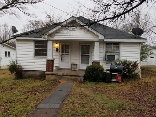 1012 Stafford St, Clarksville, TN 37040 (MLS #1992096) :: Nashville on the Move