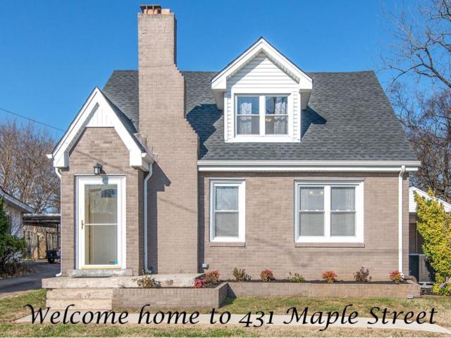 431 Maple St, Madison, TN 37115 (MLS #1993033) :: John Jones Real Estate LLC