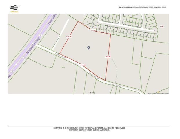 2417 Greens Mill Rd, Columbia, TN 38401 (MLS #1993485) :: Clarksville Real Estate Inc