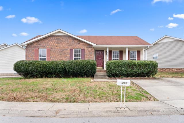 217 Grassmire Dr, Clarksville, TN 37042 (MLS #1995343) :: The Matt Ward Group