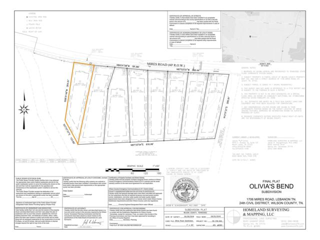 0 Mires Rd - Lot 1, Mount Juliet, TN 37122 (MLS #1995432) :: Hannah Price Team