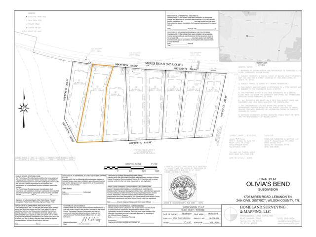 0 Mires Rd - Lot 2, Mount Juliet, TN 37122 (MLS #1995433) :: Hannah Price Team