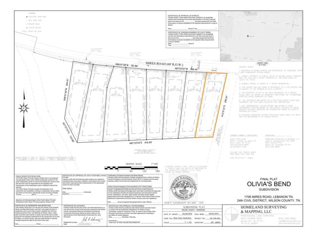 0 Mires Rd - Lot 8, Mount Juliet, TN 37122 (MLS #1995439) :: Hannah Price Team
