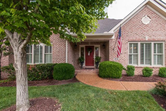 415 Summit Oaks Dr, Nashville, TN 37221 (MLS #1996713) :: Keller Williams Realty