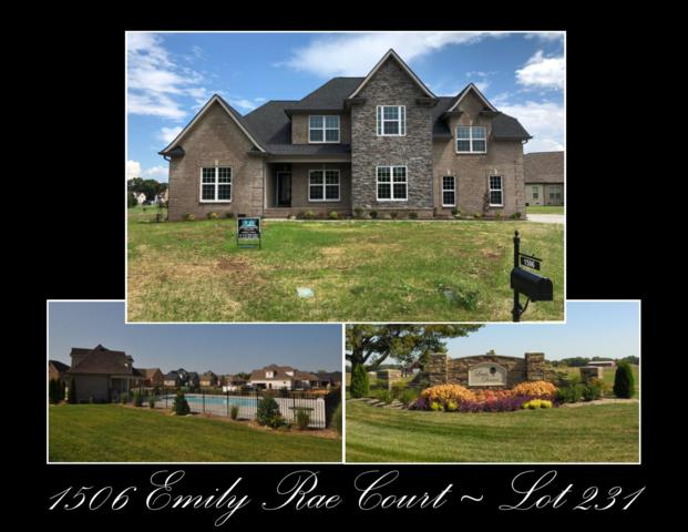 1506 Emily Rae Ct - Lot 231, Christiana, TN 37037 (MLS #1998647) :: DeSelms Real Estate