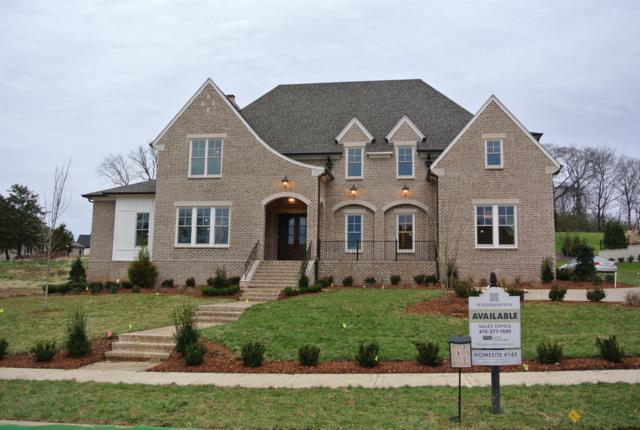 1414 Newhaven Drive, Lot#142, Brentwood, TN 37027 (MLS #1999030) :: John Jones Real Estate LLC