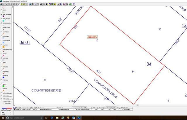 0 Commodore Dr - Lot 13, Manchester, TN 37355 (MLS #RTC2004210) :: REMAX Elite
