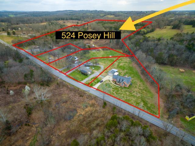 524 Posey Hill Rd, Mount Juliet, TN 37122 (MLS #2004266) :: Five Doors Network