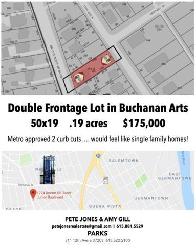 1724 Dr D B Todd Jr Blvd, Nashville, TN 37208 (MLS #2005363) :: Ashley Claire Real Estate - Benchmark Realty