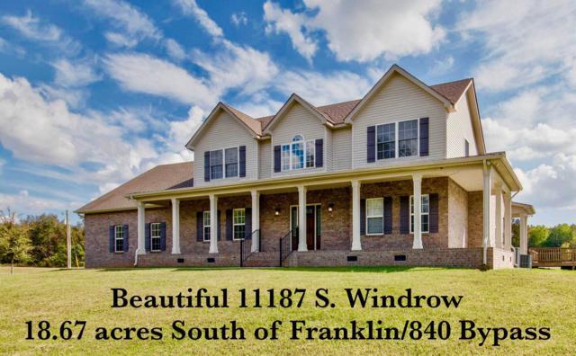 11187 S Windrow Rd, Rockvale, TN 37153 (MLS #2009377) :: EXIT Realty Bob Lamb & Associates