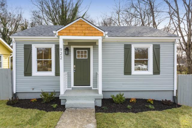922 W Greenwood Ave, Nashville, TN 37206 (MLS #2013601) :: The Milam Group at Fridrich & Clark Realty