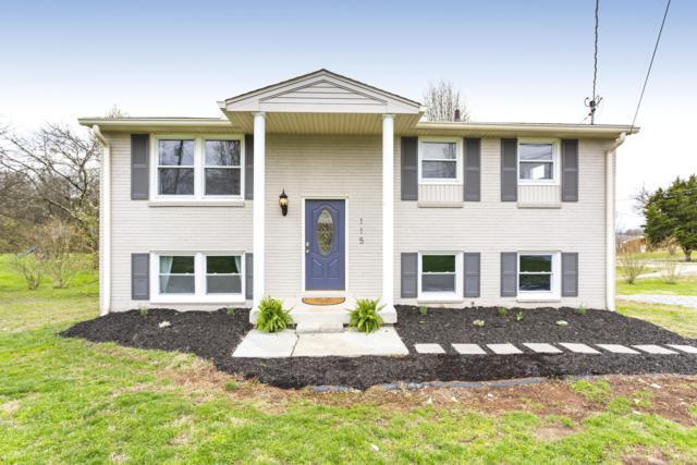 115 Sunset Blvd, Gallatin, TN 37066 (MLS #2020815) :: Berkshire Hathaway HomeServices Woodmont Realty