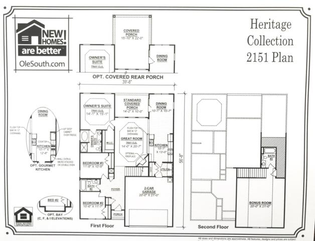 1234 Cotillion Drive (Lot 466), Murfreesboro, TN 37128 (MLS #2020945) :: Team Wilson Real Estate Partners