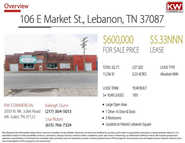106 E Market St, Lebanon, TN 37087 (MLS #2021152) :: John Jones Real Estate LLC