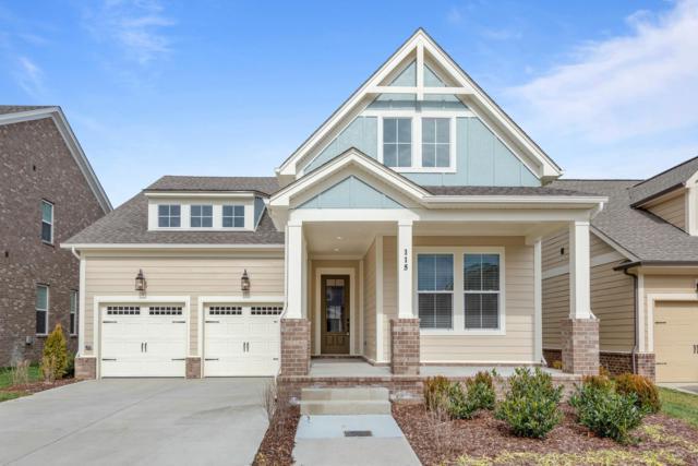 115 Nighthawk Rd. Lot 349, Hendersonville, TN 37075 (MLS #2021181) :: REMAX Elite