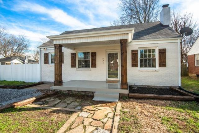 231 Thuss Ave, Nashville, TN 37211 (MLS #2021603) :: The Milam Group at Fridrich & Clark Realty