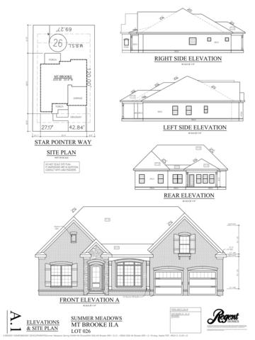 237 Star Pointer Way Lot26, Spring Hill, TN 37174 (MLS #2022617) :: Stormberg Real Estate Group