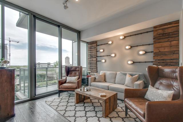 1212 Laurel St. Apt 606, Nashville, TN 37203 (MLS #2031220) :: DeSelms Real Estate