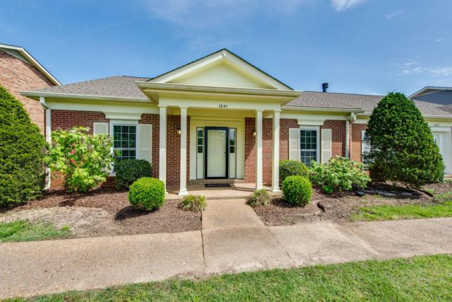 1241 General George Patton Rd, Nashville, TN 37221 (MLS #2032662) :: The Milam Group at Fridrich & Clark Realty