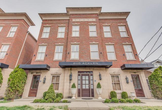2110 Acklen Ave Apt 101, Nashville, TN 37212 (MLS #2033395) :: RE/MAX Homes And Estates