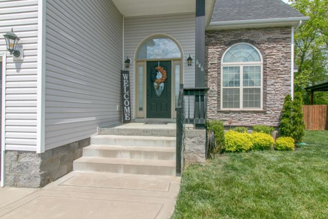 646 Fox Hound Dr, Clarksville, TN 37040 (MLS #2034294) :: The Group Campbell powered by Five Doors Network