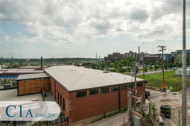 20 Rutledge St #209, Nashville, TN 37210 (MLS #RTC2035478) :: Black Lion Realty