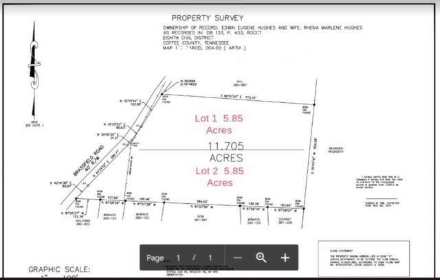 0 Lot 1 Brassfield Road, Hillsboro, TN 37342 (MLS #2041098) :: Berkshire Hathaway HomeServices Woodmont Realty
