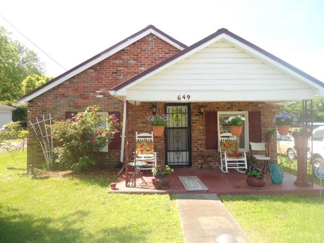 649 W Eastland St, Gallatin, TN 37066 (MLS #RTC2041855) :: Fridrich & Clark Realty, LLC