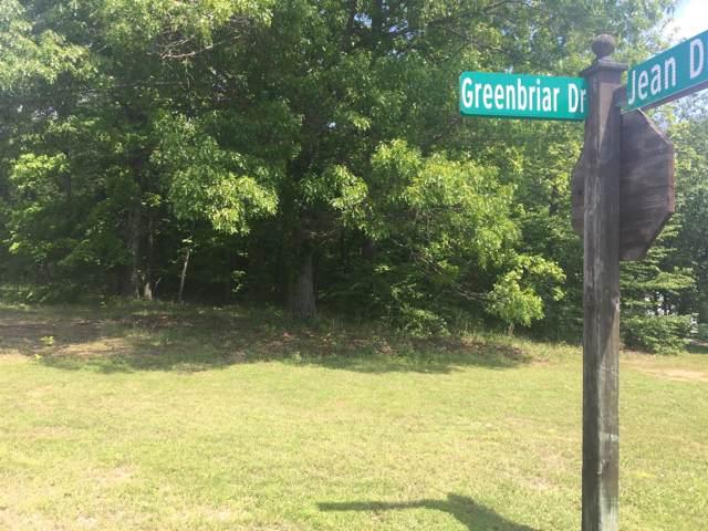 0 Greenbriar Dr, Tullahoma, TN 37388 (MLS #RTC1825664) :: Village Real Estate