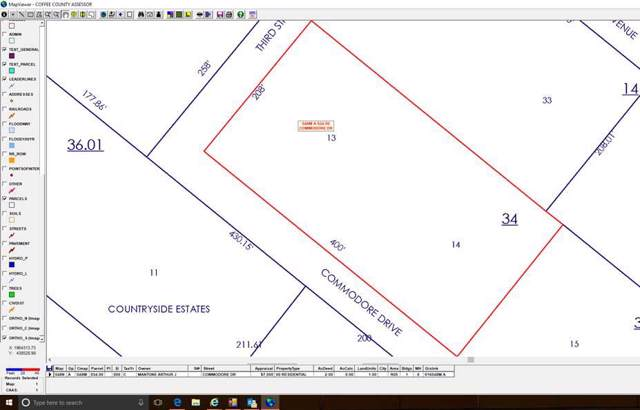 0 Commodore Dr - Lot 13, Manchester, TN 37355 (MLS #RTC2004210) :: RE/MAX Homes And Estates