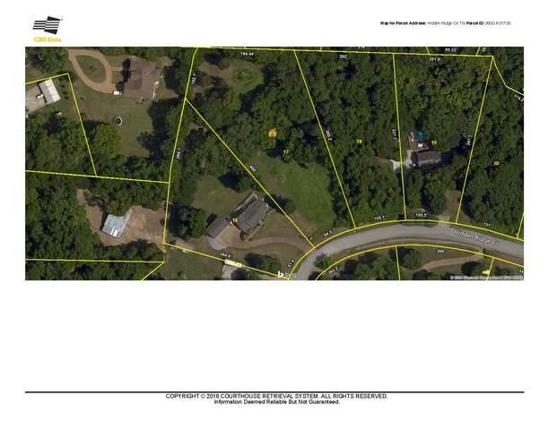 1837 Hidden Ridge Cir, Mount Juliet, TN 37122 (MLS #RTC2025696) :: Nashville on the Move