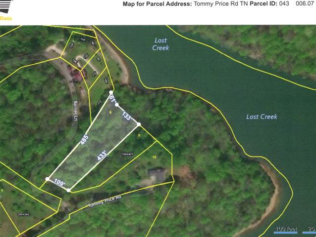 0 Tommy Price Rd Lot 8, Lynchburg, TN 37352 (MLS #RTC2031691) :: REMAX Elite