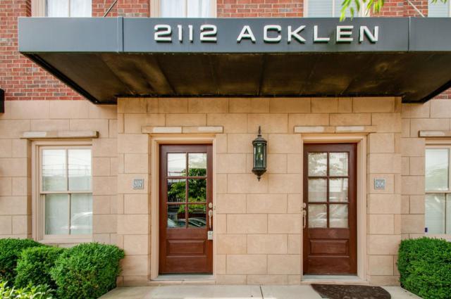 2112 Acklen Ave Apt 207, Nashville, TN 37212 (MLS #RTC2043830) :: Exit Realty Music City