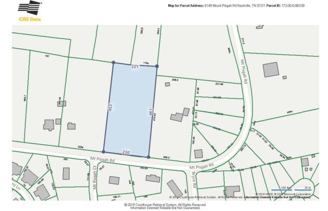 6149 Mount Pisgah Rd, Nashville, TN 37211 (MLS #RTC2054080) :: Village Real Estate