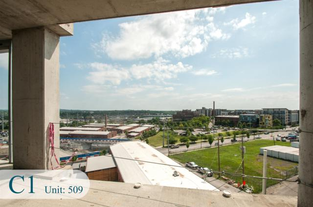 20 Rutledge St #509, Nashville, TN 37210 (MLS #RTC2054860) :: Maples Realty and Auction Co.