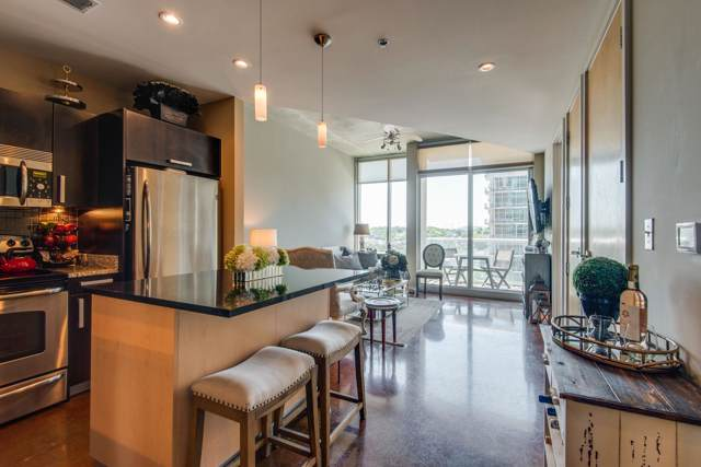 600 12th Avenue S, #1512 #1512, Nashville, TN 37203 (MLS #RTC2056932) :: CityLiving Group