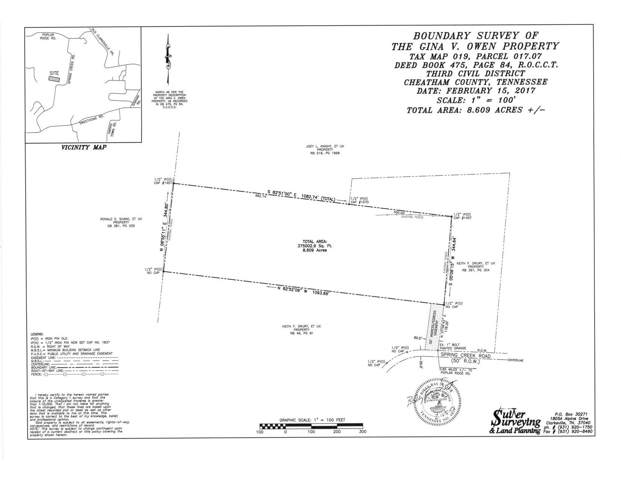 0 Spring Creek Rd., Chapmansboro, TN 37035 (MLS #RTC2058172) :: Clarksville Real Estate Inc
