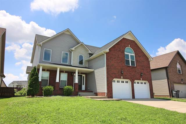1757 Apache Way, Clarksville, TN 37042 (MLS #RTC2058976) :: The Group Campbell powered by Five Doors Network