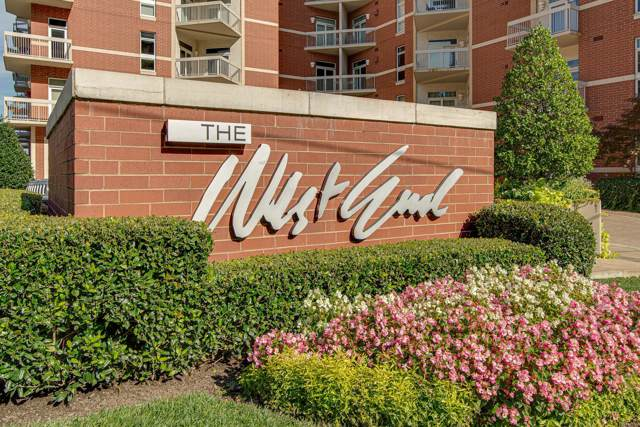 110 31st Ave N  #502 #502, Nashville, TN 37203 (MLS #RTC2059942) :: Team Wilson Real Estate Partners