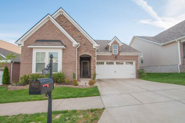 1783 Stonewater Dr., Hermitage, TN 37076 (MLS #RTC2060209) :: HALO Realty
