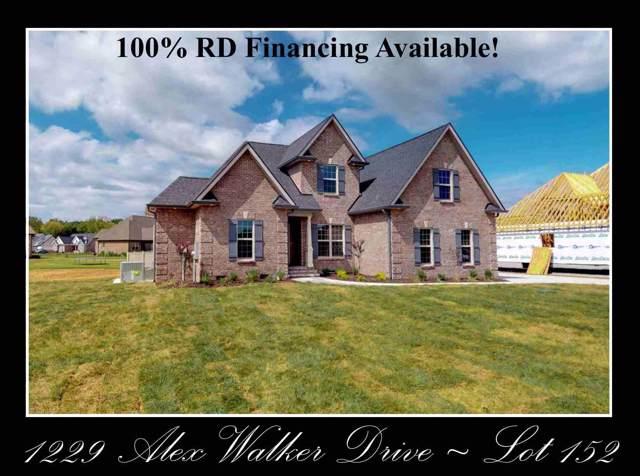 1229 Alex Walker Dr - Lot 152, Christiana, TN 37037 (MLS #RTC2061135) :: Village Real Estate