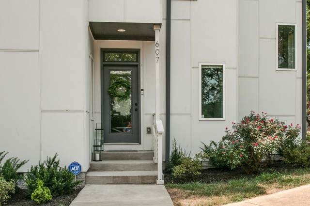 607 Coffee St, Nashville, TN 37208 (MLS #RTC2062926) :: Ashley Claire Real Estate - Benchmark Realty
