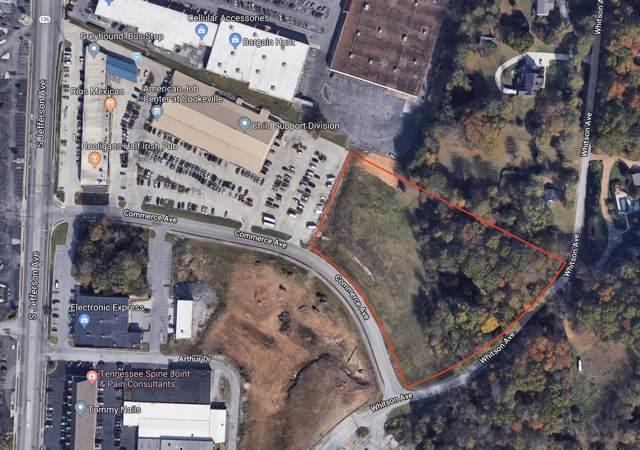0 Commerce Ave, Cookeville, TN 38501 (MLS #RTC2066673) :: Nashville on the Move