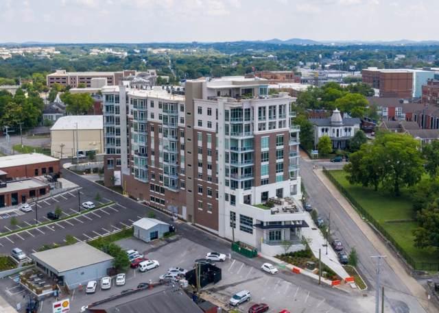 20 Rutledge St #110, Nashville, TN 37210 (MLS #RTC2071149) :: Exit Realty Music City