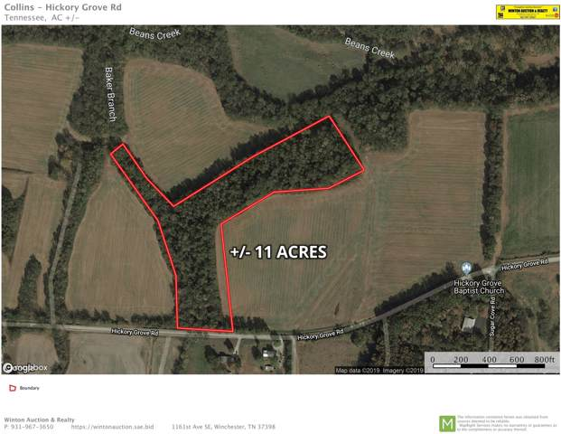 0 Hickory Grove Rd, Huntland, TN 37345 (MLS #RTC2071297) :: Nashville on the Move