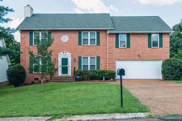 6104 Bradford Hills Dr, Nashville, TN 37211 (MLS #RTC2071995) :: DeSelms Real Estate