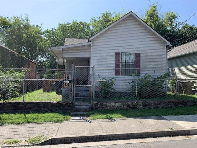 1703 Cockrill St, Nashville, TN 37208 (MLS #RTC2074013) :: DeSelms Real Estate