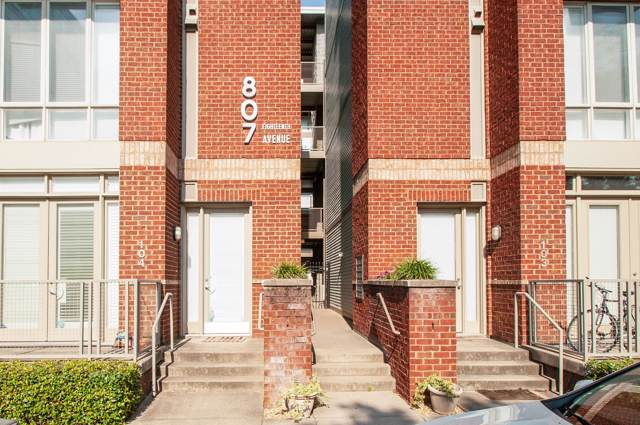 807 18Th Ave S Apt 414, Nashville, TN 37203 (MLS #RTC2074488) :: HALO Realty