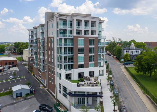 20 Rutledge St Unit 105, Nashville, TN 37210 (MLS #RTC2077603) :: FYKES Realty Group